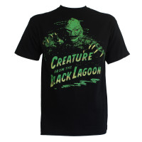Creature from the Black Lagoon Movie T-Shirt - Green Creature