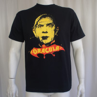 Bela Lugosi Dracula T-Shirt - Yellow  Face
