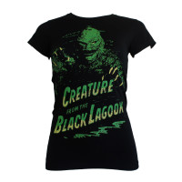 Creature from the Black Lagoon T-Shirt Girls - Green Creature
