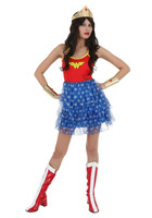 DC Comics Girls Mini Skirt - Wonder Woman