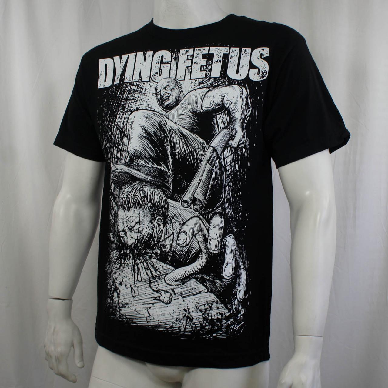 1e4a36cd84b7 Dying Fetus T-Shirt - Curb Stomp - Merch2rock Alternative Clothing