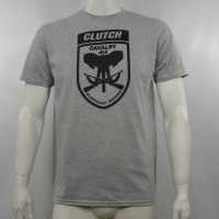 Clutch Elephant Riders T-Shirt Heather Gray