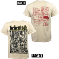Behemoth T-Shirt - Lvcifer Natural