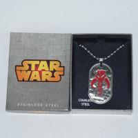 Star Wars Stainless Steel Necklace - Mandalorian Symbol