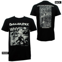 Discharge Slim Fit T-Shirt - Why?