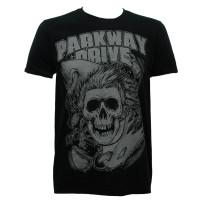 Parkway Drive Slim Fit T-Shirt - Surfer Skull