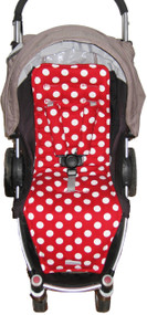 """Minnie"" Polka Dot White & Red to fit Agile"
