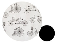 Retro Bicycles & Owls to fit SilverCross -  (exclusive Pramskins print)