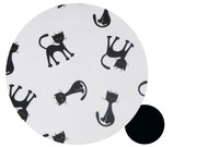 Cats Black & White to fit Agile/Agile Plus - all cotton