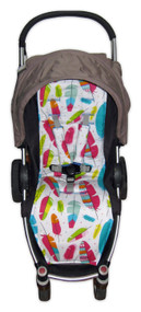 Feathers Multi Cotton Pram Liner for Agile/Agile Plus