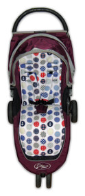 Nautical Cotton  Pram Liner to fit Baby Jogger