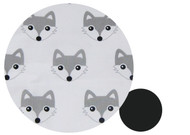 Fox Grey Cotton Pram Liner to fit Agile/Agile Plus - back in stock!