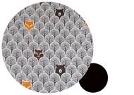 Peekaboo Grey Cotton Pram Liner to fit Baby Jogger