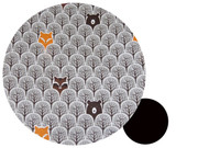 Peekaboo Grey Cotton Pram Liner to fit Joolz Day