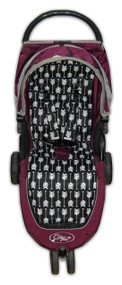 Arrows Black & White Cotton Pram Liner to fit Baby Jogger