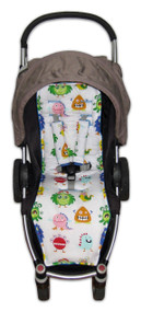 Little Monster Cotton Pram Liner to fit Agile/Agile Plus