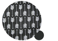 Arrows Black & White Cotton Pram Liner to fit Bugaboo Bee
