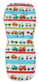 Trucks and Cars Cotton Pram Liner to fit UPPAbaby