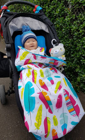 Feathers Multi Snuggle Bag for Baby Jogger City Mini GT