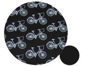 Classic Bikes Black Cotton Pram Liner to fit Phil & Teds