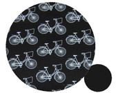 Classic Bikes Black Cotton Pram Liner to fit Uppababy