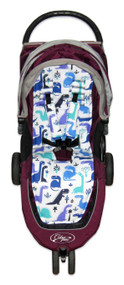 Dino Rama Cotton Pram Liner to Fit Baby Jogger