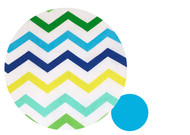 Cool Chevron Pram Liner to fit Baby Jogger City Mini GT