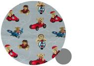Baby Jogger Teddy Bear Adventures Grey Cotton Pram Liner