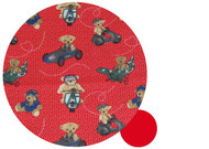 Copy of Joolz Day Bear Adventures Red Cotton Pram Liner
