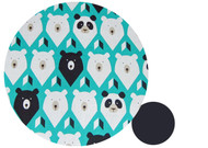 Geo Bears Teal Cotton Pram Liner to fit Bugaboo Cameleon