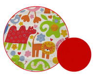 Jungle Animals Universal Fit Cotton Pram Liner
