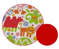 Jungle Animals Universal Fit Cotton Pram Liner