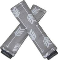Arrows Grey & White strap covers