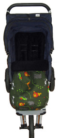 "Safari ""Race a Rama"" Snuggle to fit Mountain Buggy"