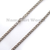 Wholesale Stainless Steel Link Chain 6 mm wide - High Polished---Lower price guarantee