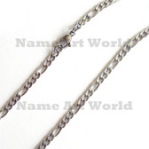Wholesale Stainless Steel Figaro Chain 3.75 mm wide - High Polished---Lower price guarantee