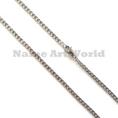 Wholesale Stainless Steel Link Chain - 3 mm wide - High Polished---Lower price guarantee