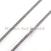Wholesale Stainless Steel Link Chain 4.5mm wide- High Polished---Lower price guarantee