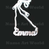 Emma Name Necklaces. Next day ship. NeverTarnishes