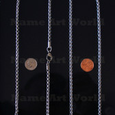 Wholesale Stainless Steel Box Round Chain 4.5mm - High Polished