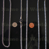 Wholesale Stainless Steel Box Chain 5.0 mm - High Polished