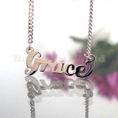 Grace Name Necklaces. NeverTarnishes