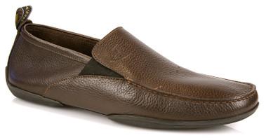 Michael Toschi Driving Shoes Onda Chocolate/Pebble