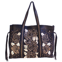 Kippy's Roses Shopping Tote