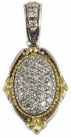Konstantino Asteri Collection Sterling Silver & 18k Gold Petite Pendant