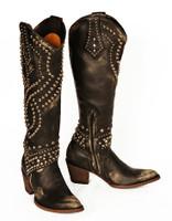 Old Gringo Belinda Black/Beige Boots