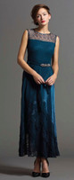 Komarov Asymmetric Layered Gown