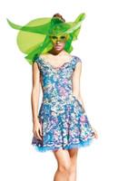 Olvi's Trend Blue Floral Print Dress