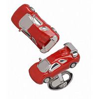 Jan Leslie Sterling Silver Italian Car Cufflinks