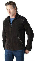 Remy Men's Zip Front Jacket Smoke/Cocoa